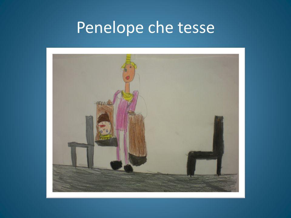 Penelope che tesse