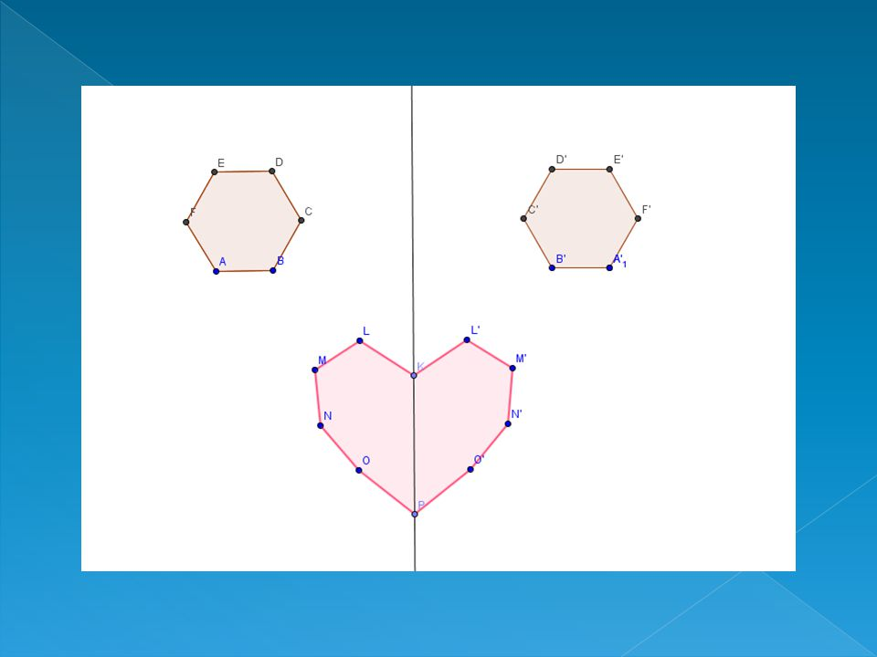 Definizione Si dice simmetria centrale di centro O la trasformazione che ad O associa se stesso e che ad ogni punto P diverso da O associa il punto Q, appartenente al prolungamento della semiretta OP, tale che PO=OQ.