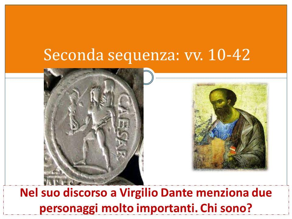 7) Nella Divina commedia Dante compare sotto una doppia veste: è personaggio e autore. Perché? Quale sarà la differenza tra i due ruoli? 8) Perché i v
