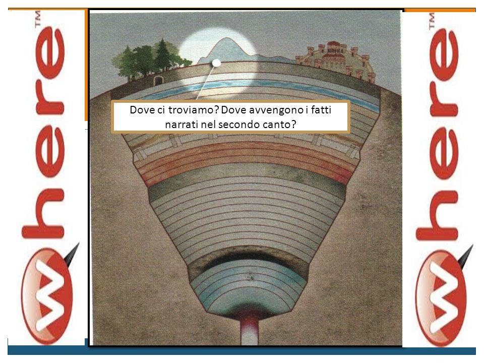 Questionario 1) Dove si trovano Dante e Virgilio? 2) Quali sono i fatti principali del secondo canto (sono tre)? 3) Qual è la funzione del secondo can