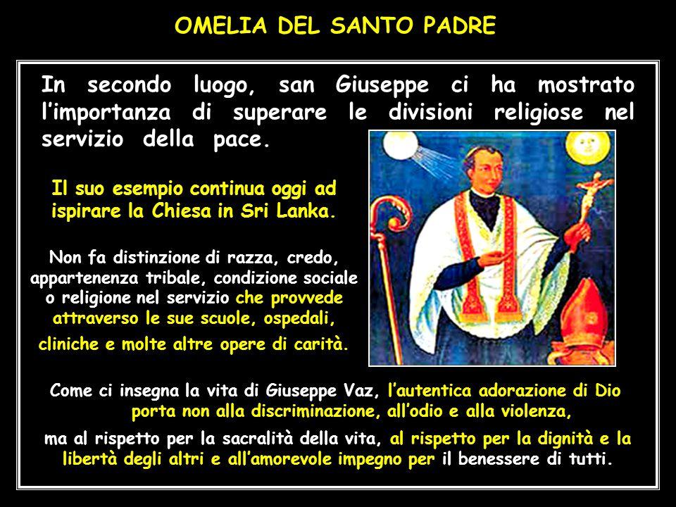 Mercoledì, 14 gennaio 2015 – SRI LANKA Fuori programma, Papa Francesco aderisce all'invito di un Tempio Buddista.