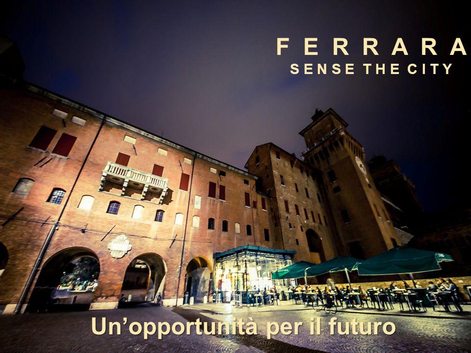F E R R A R A S E N S E T H E C I T Y Un'opportunità per il futuro
