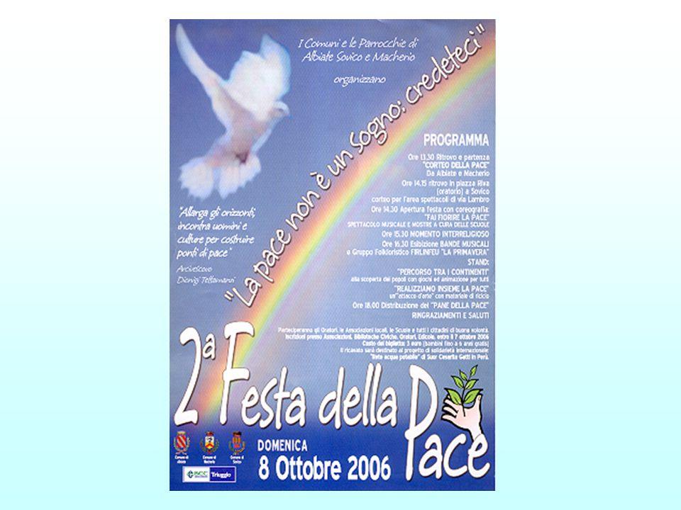 Albiate, un paese in cammino verso la pace - gli eventi del 2007 -