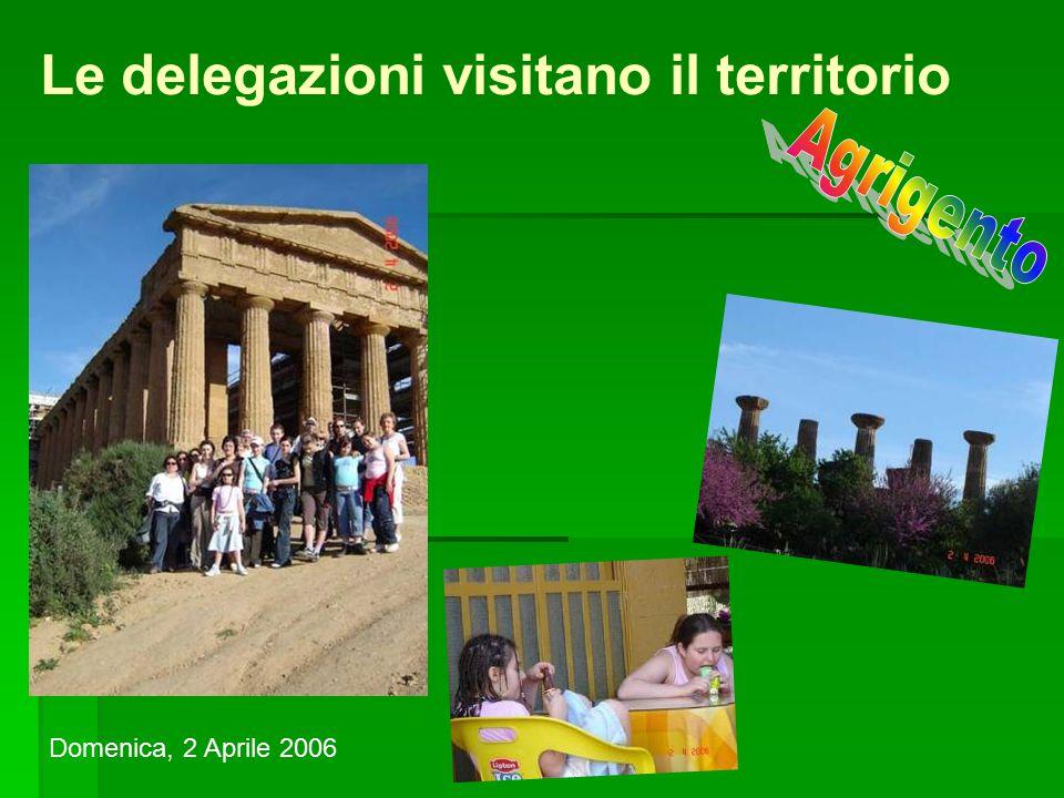 Le delegazioni visitano il territorio Domenica, 2 Aprile 2006
