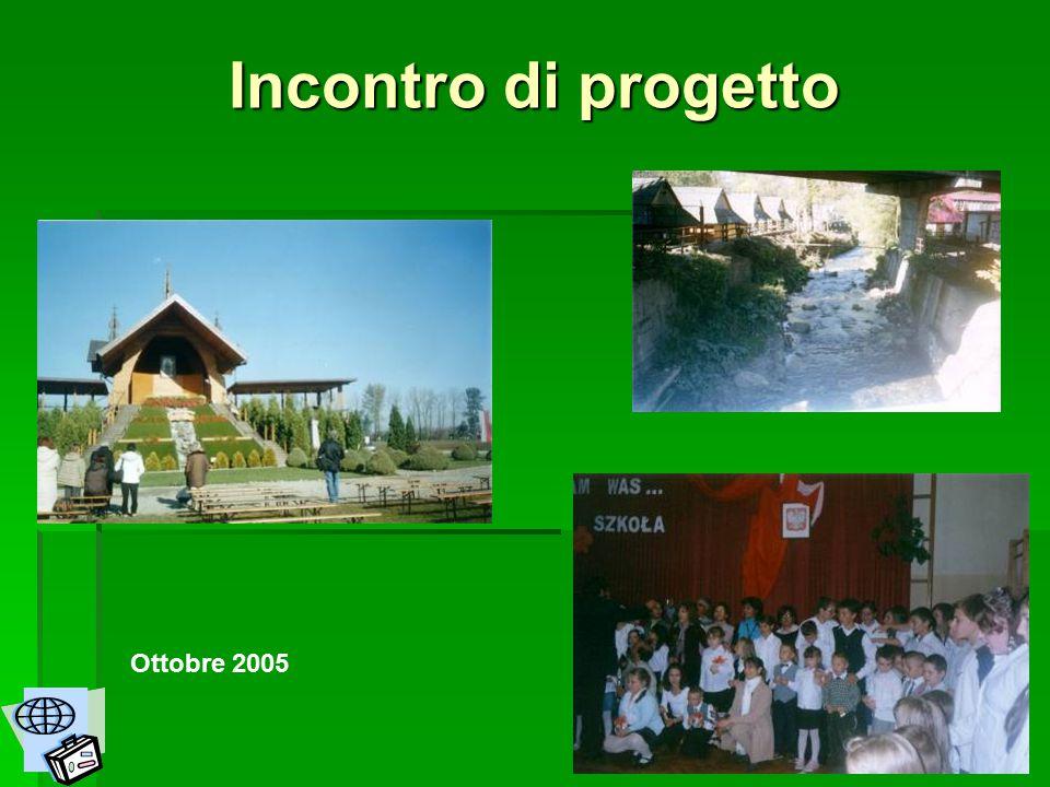 Incontro di progetto Ottobre 2005