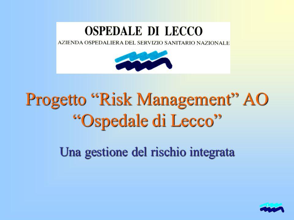 """1 Progetto """"Risk Management"""" AO """"Ospedale di Lecco"""" Una gestione del rischio integrata"""