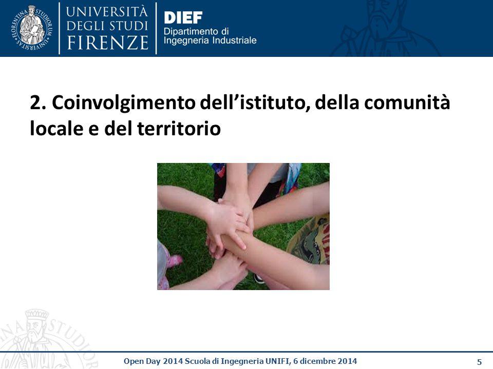 5 Open Day 2014 Scuola di Ingegneria UNIFI, 6 dicembre 2014 2.