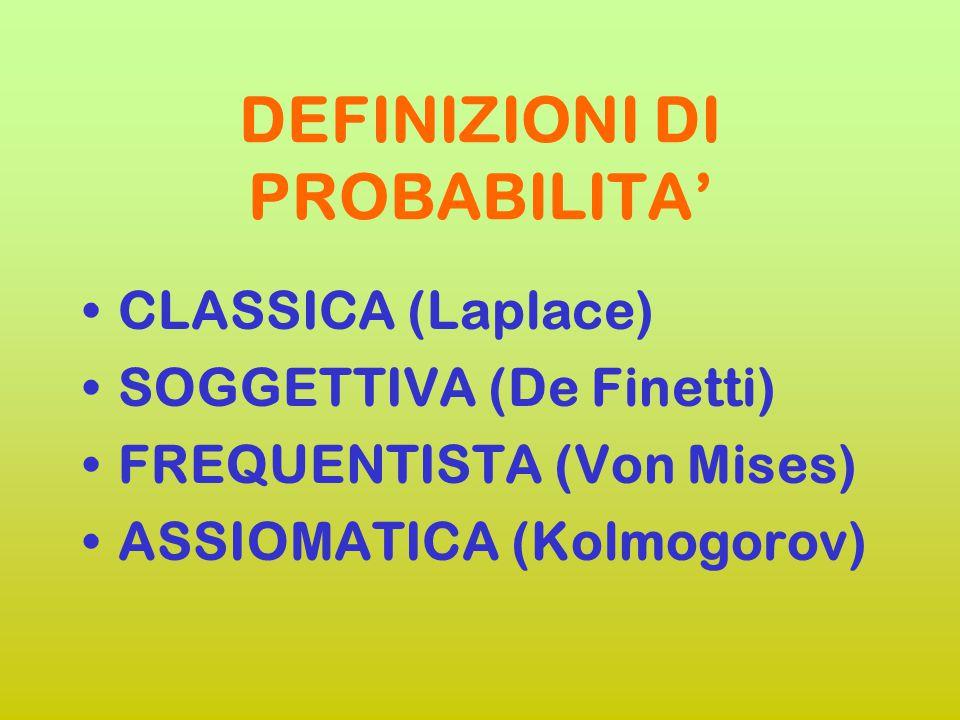 """UNA PROVOCAZIONE: """"PROBABILITY DOES NOT EXIST"""" Bruno De Finetti"""
