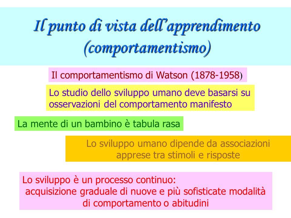 La teoria di Erikson dello sviluppo psicosociale Anche secondo E. esistono istinti di base e la personalità consiste di id - io - superio -, ma dà una