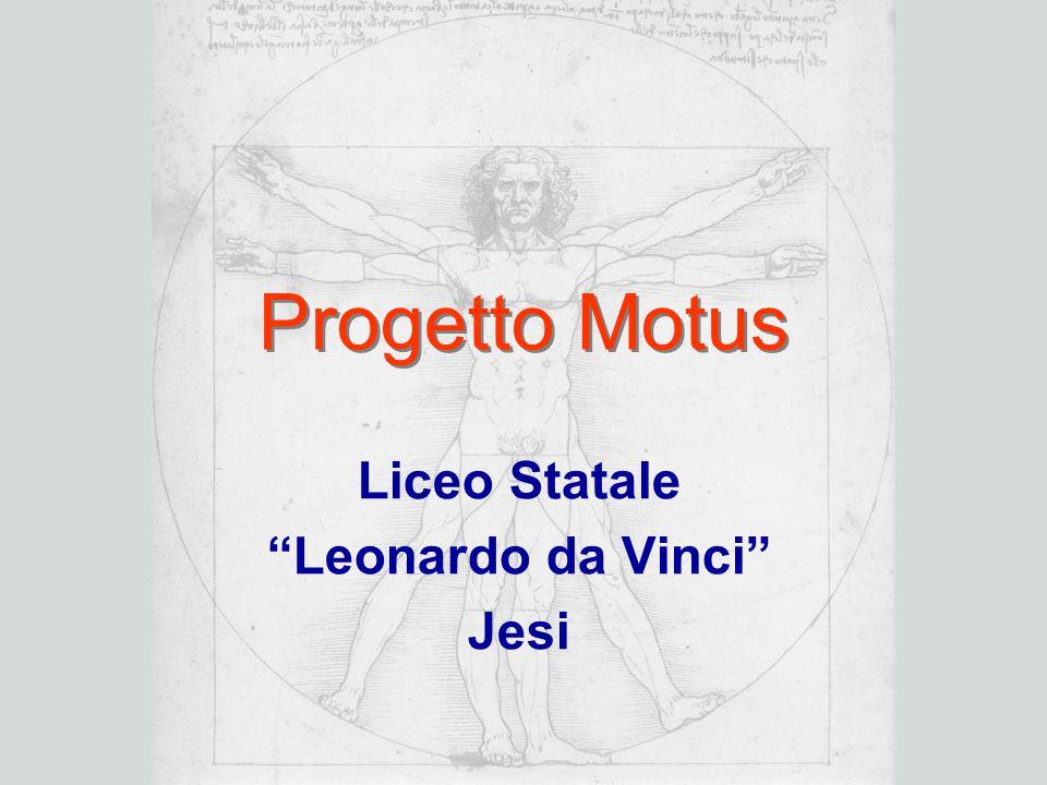 "Progetto Motus Liceo Statale ""Leonardo da Vinci"" Jesi"