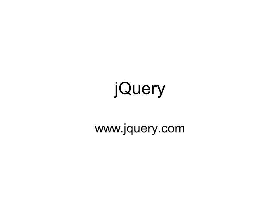 jQuery www.jquery.com