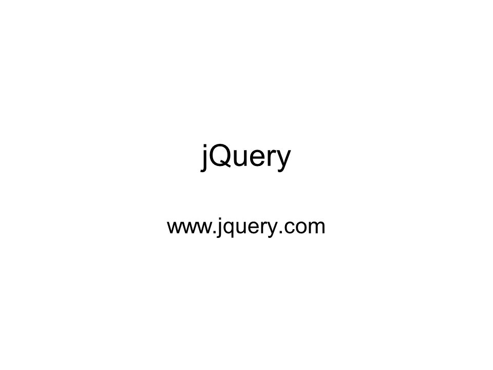 jQuery versione di sviluppo (jquery-x.y.js) versione sintetica (jquery-x.y.min.js)