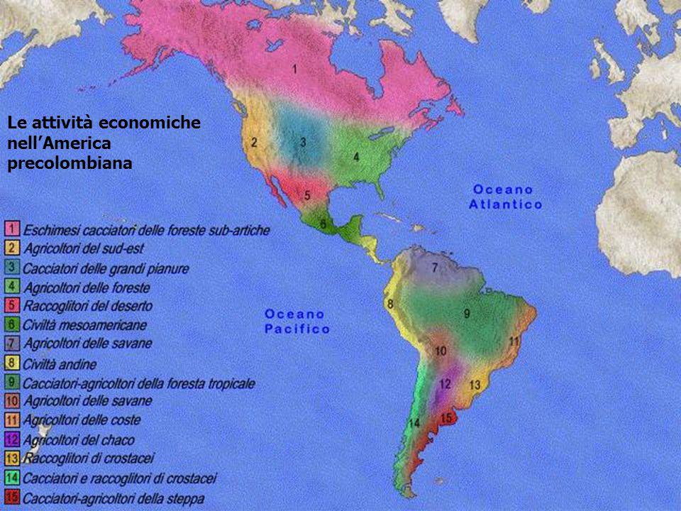Le attività economiche nell'America precolombiana