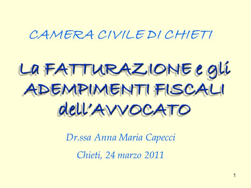 2 Premessa Le disposizioni istitutive dell IVA ( art.