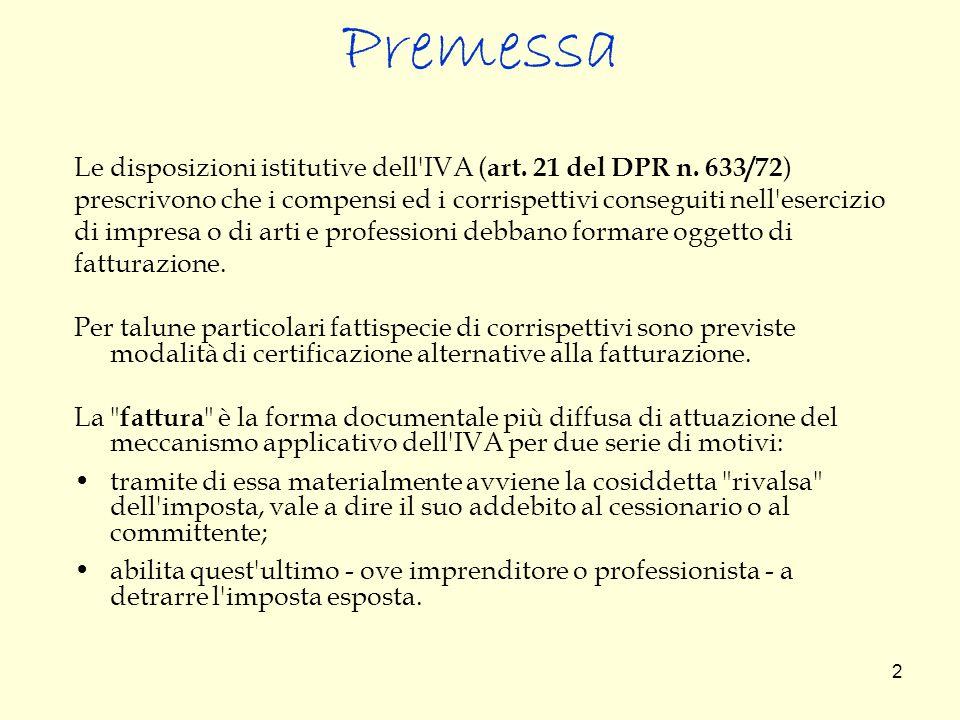 33 Esempio di fattura con rimborsi spese Avv.Mario Bianchi Via Roma, 1 20100 MILANO C.F.