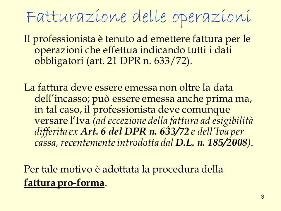 34 GLI INTERESSI MORATORI L'importo relativo all'addebito di interessi non costituisce base imponibile ai fini IVA: l' art.