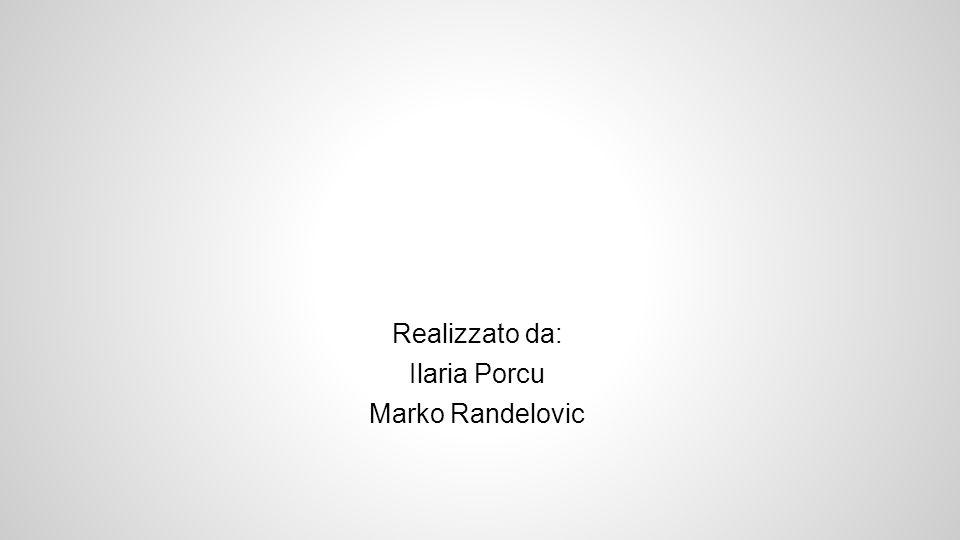 Realizzato da: Ilaria Porcu Marko Randelovic