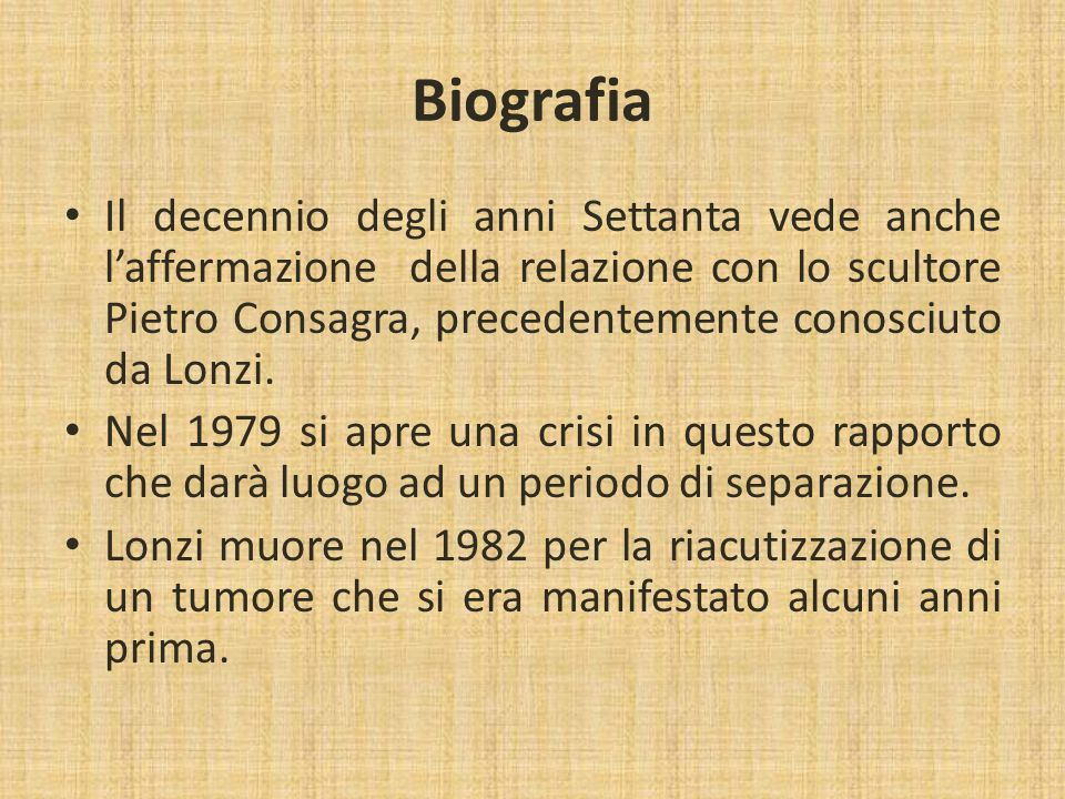Il pensiero di Carla Lonzi: La liberazione sessuale.