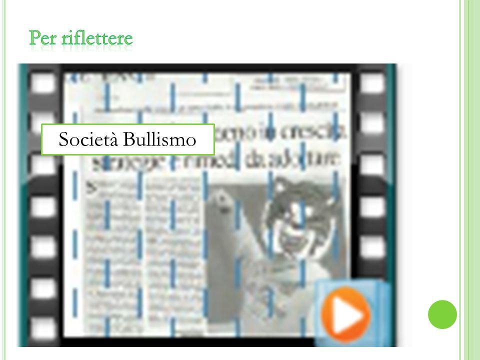 Società Bullismo
