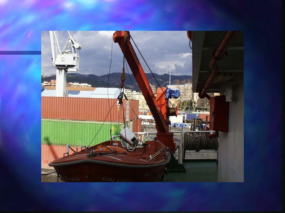 UOMO A MARE L'esercitazione di uomo a mare deve comprendere: n la chiamata dell'armo del battello di emergenza / imbarcazione di salvataggio mediante