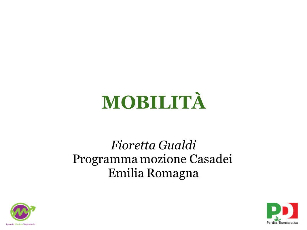 MOBILITÀ Fioretta Gualdi Programma mozione Casadei Emilia Romagna