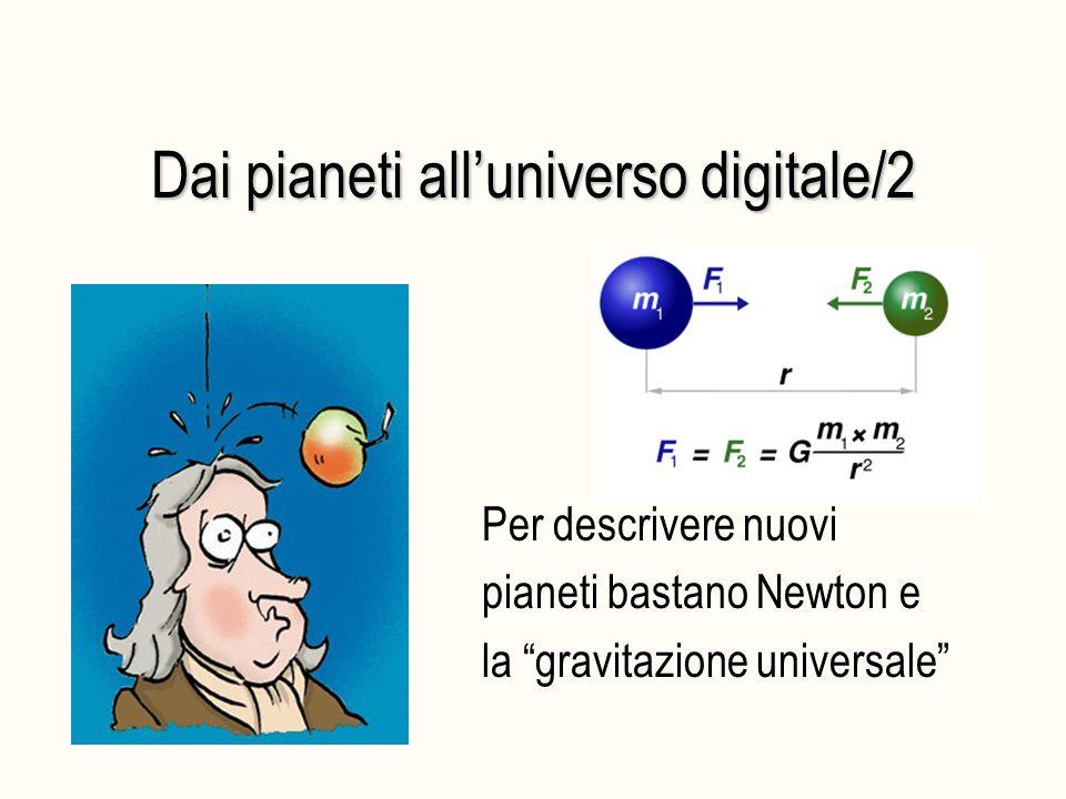 """Dai pianeti all'universo digitale/2 Per descrivere nuovi pianeti bastano Newton e la """"gravitazione universale"""""""