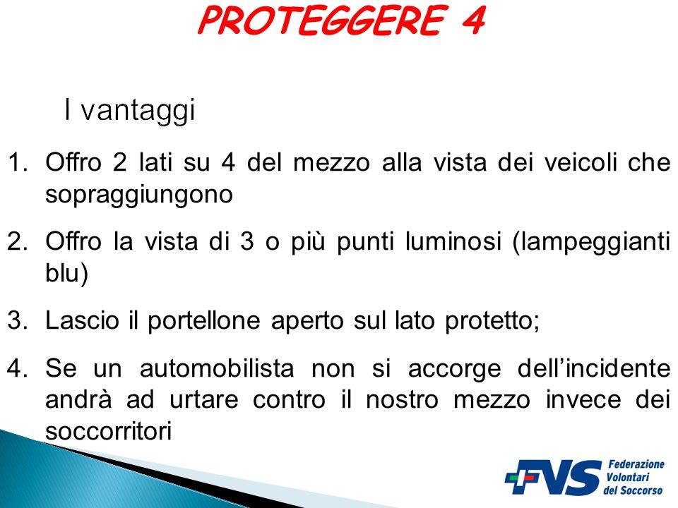 INCIDENTE ASSICURARSI SEMPRE UNA VIA DI FUGA PROTEGGERE 3