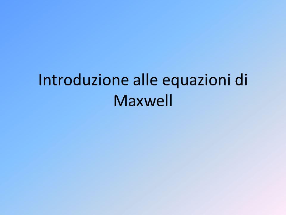 Introduzione alle equazioni di Maxwell