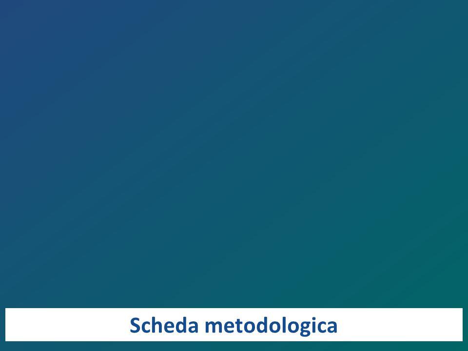 Scheda metodologica