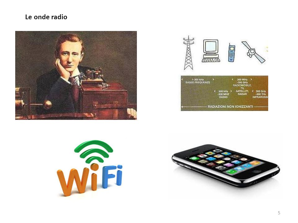 Le onde radio 5