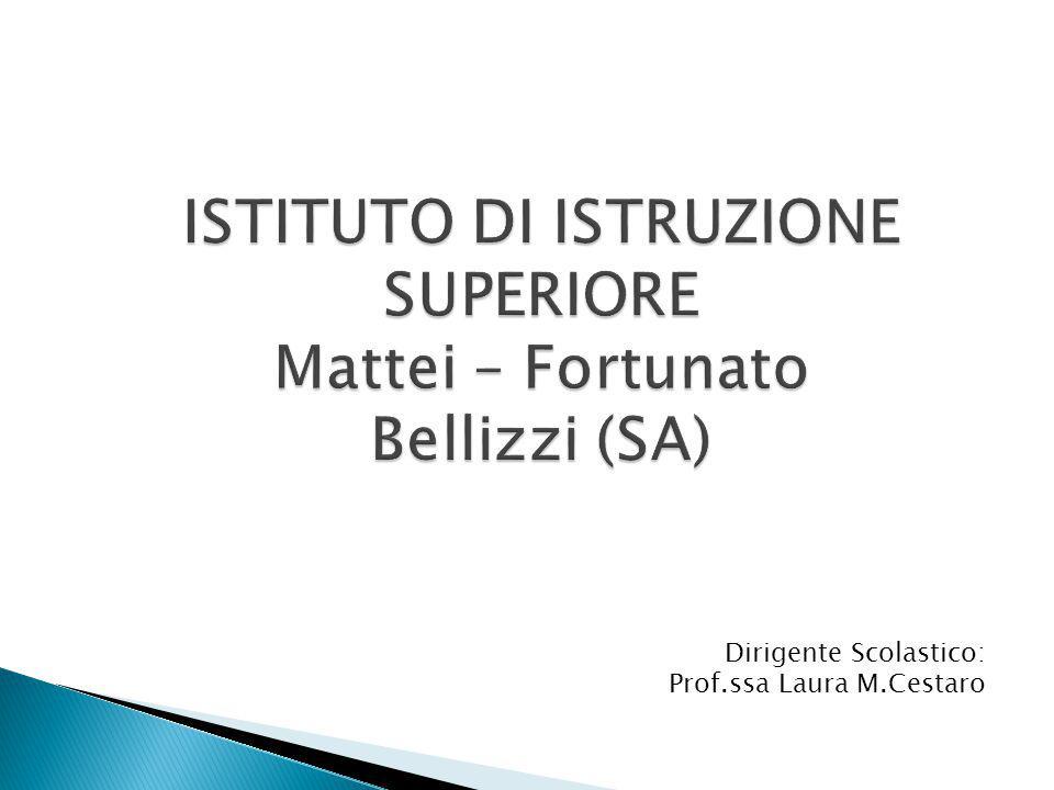 Dirigente Scolastico: Prof.ssa Laura M.Cestaro
