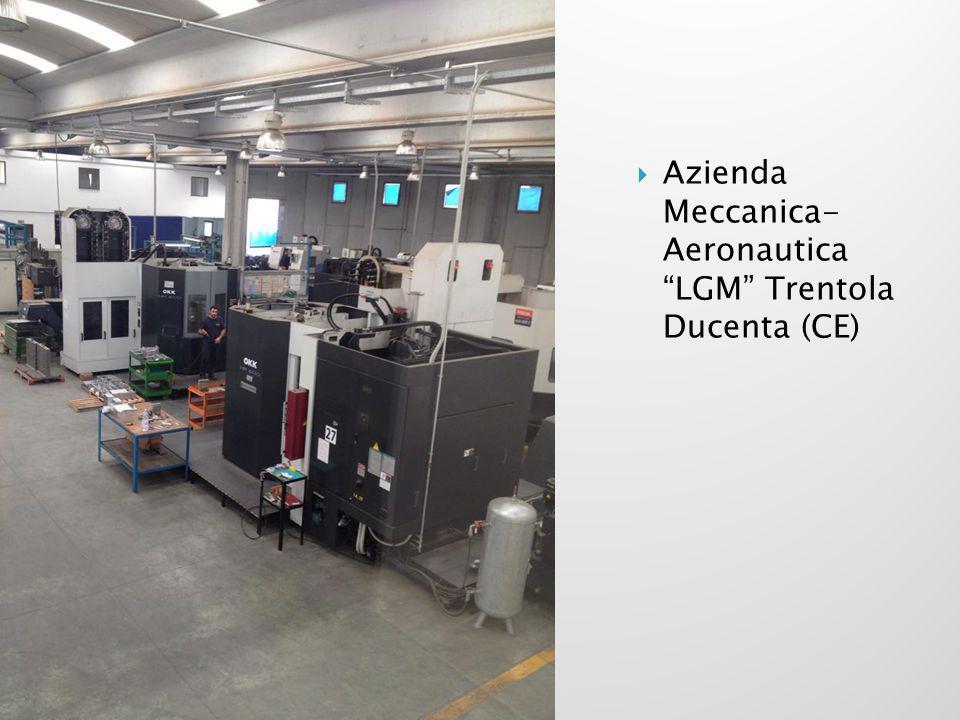 " Azienda Meccanica- Aeronautica ""LGM"" Trentola Ducenta (CE)"