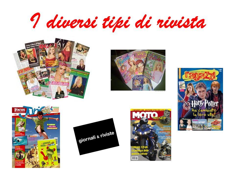 I diversi tipi di rivista