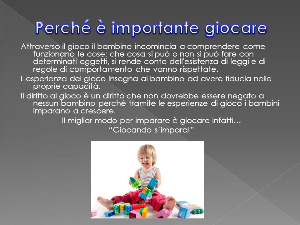Il gioco è una delle attività con la quale si tenta anche la cura e il recupero psicologico dei bambini molestati o che hanno avuto un infanzia difficile.