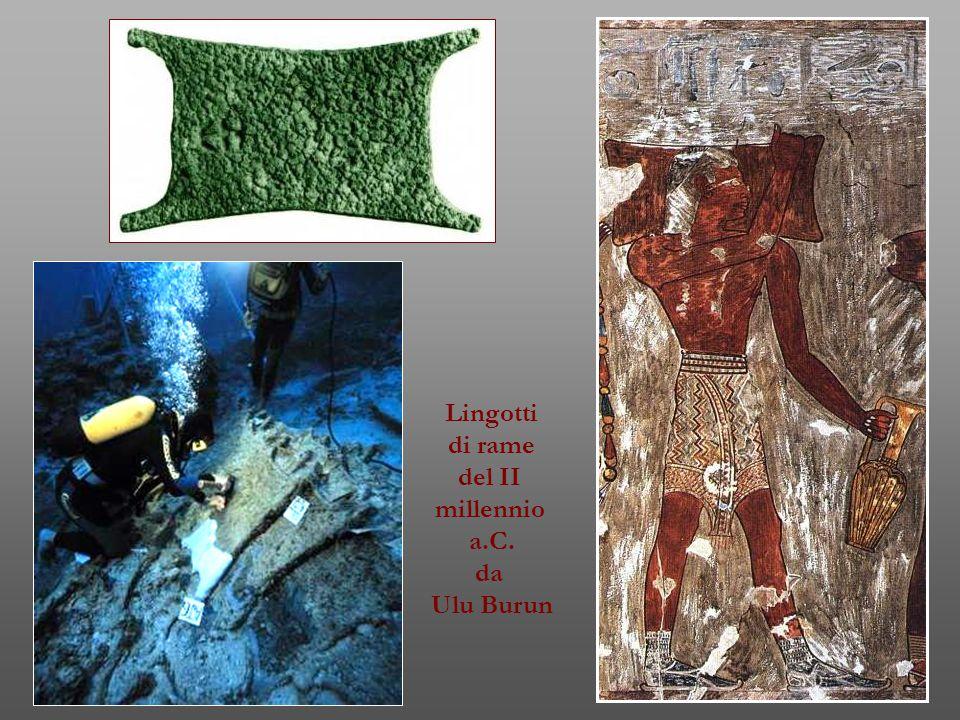 Lingotti di rame del II millennio a.C. da Ulu Burun