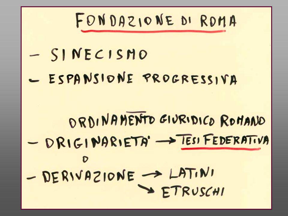 Livio I, 8, 1: Rebus divinis rite perpetratis vocataque ad concilium multitudine, quae coalescere in populi unius corpus nulla re praeterquam legibus poterat, iura dedit.