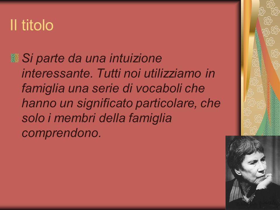 La formazione letteraria di Natalìa Balbo aveva una moglie che non condivideva le sue idee, Lola, che aveva lavorato nella casa editrice Einaudi ed era stata incarcerata per due mesi dai fascisti.