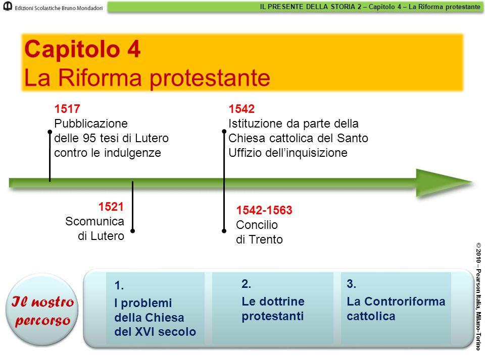 1.I problemi della Chiesa del XVI secolo 2.