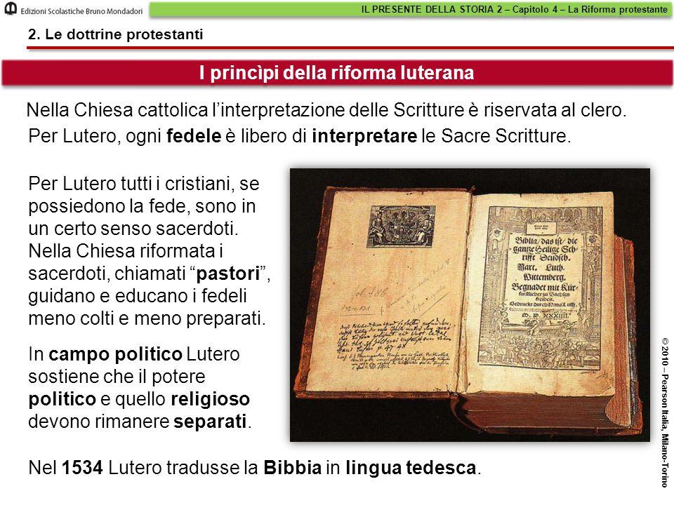 Nella Chiesa cattolica l'interpretazione delle Scritture è riservata al clero.