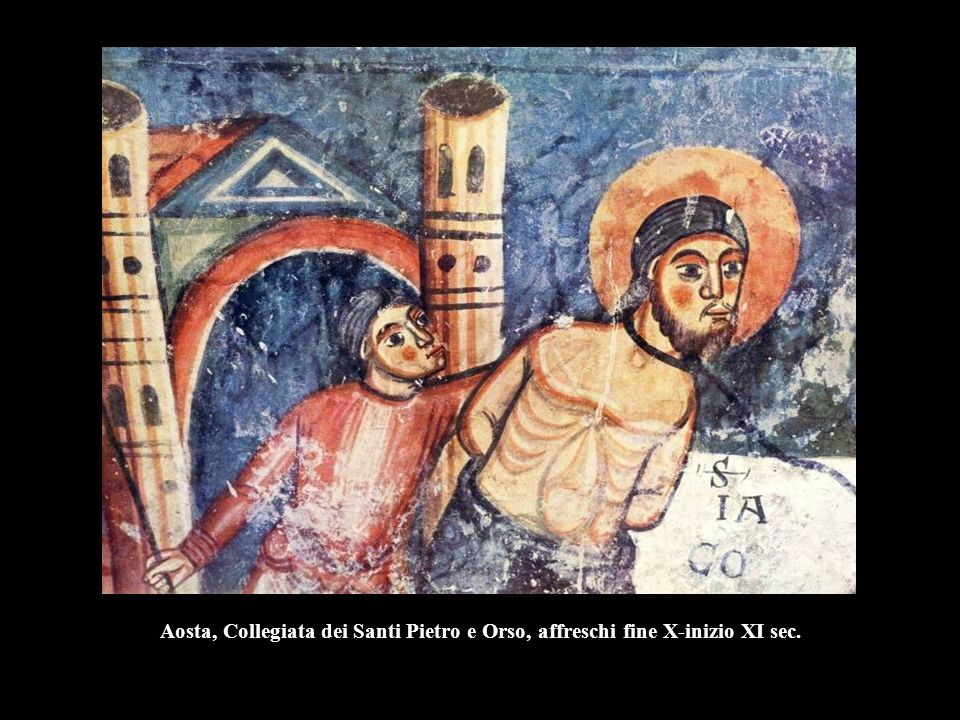 Maestro di Beno, Storie di San Clemente e Alessio, 1106, Roma, San Clemente inferiore.