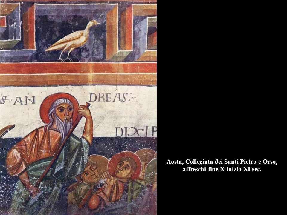 Storie del Vecchio e Nuovo Testamento, 1150, Ferentillo (Terni), Abbazia di San Pietro in Valle.