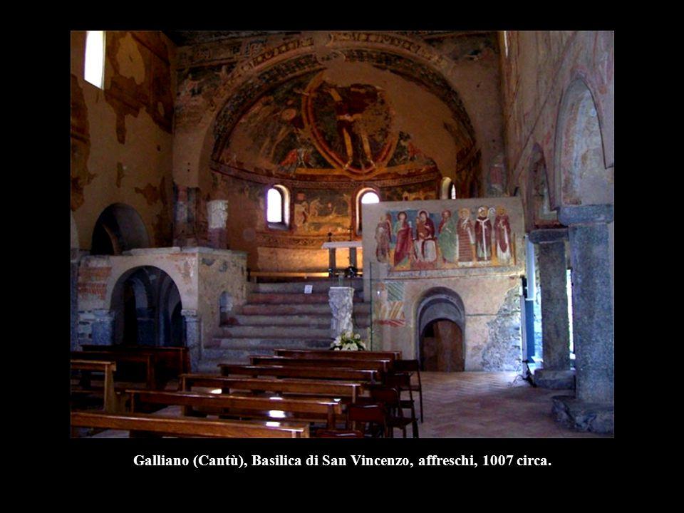 Cristo, la Vergine e San Giovanni, prima metà del XII, Duomo, Tivoli. (prima del restauro)