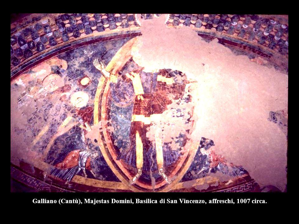 Cristo, la Vergine e San Giovanni, prima metà del XII, Duomo, Tivoli.