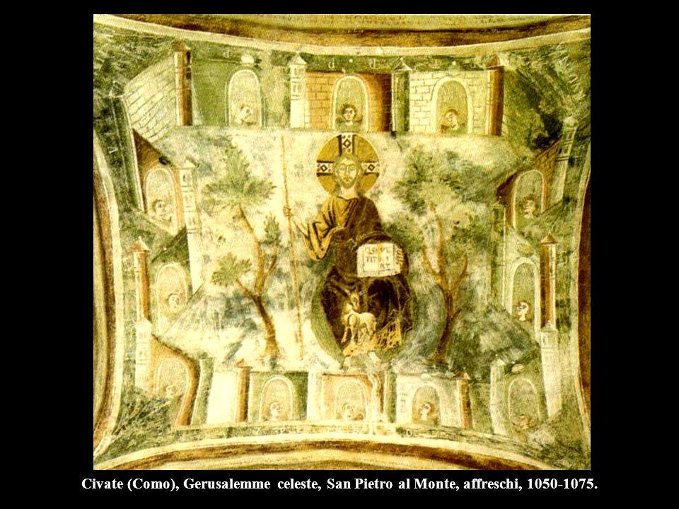 Cristo in maestà, prima del 1087, Duomo, Sant'Angelo in Formis (Caserta).
