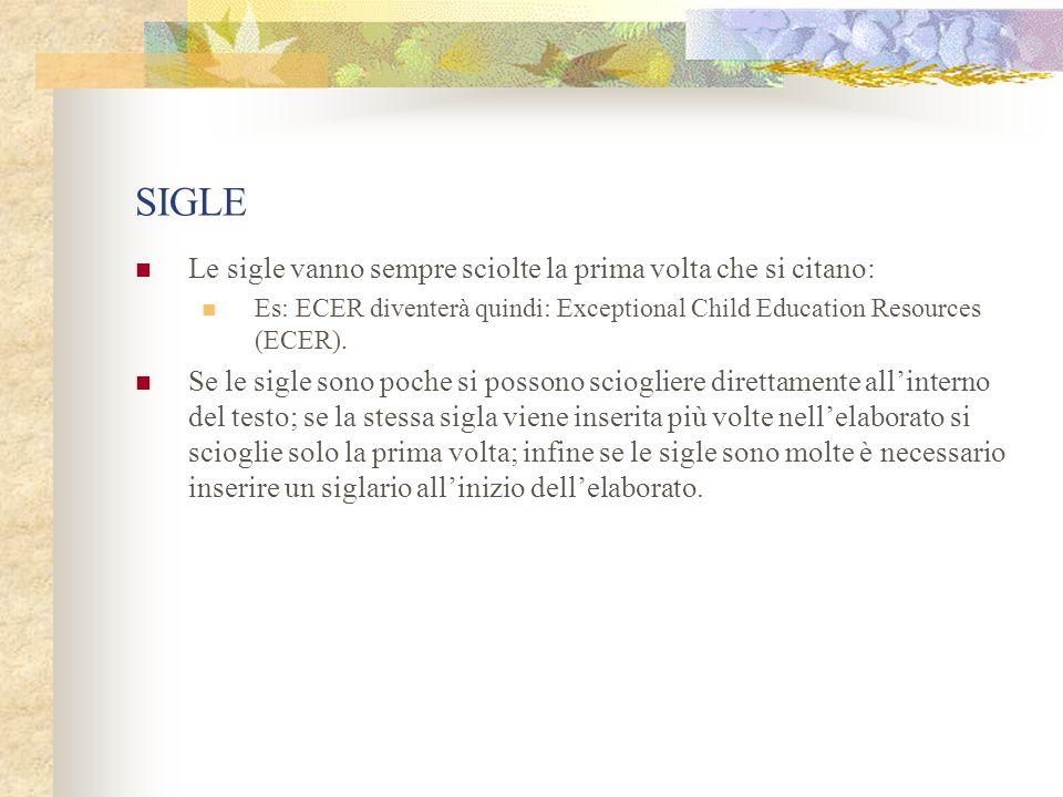 INDICE DEI NOMI Si scrive: COGNOME NOME proprio (in MAIUSCOLETTO, sciolto), le pagine in cui compare.