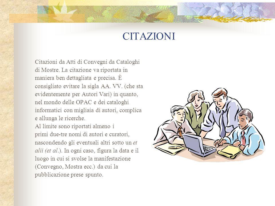 CITAZIONI 1.
