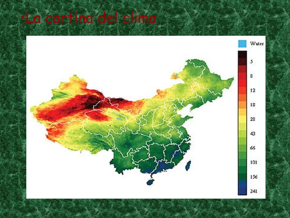 La cartina del clima