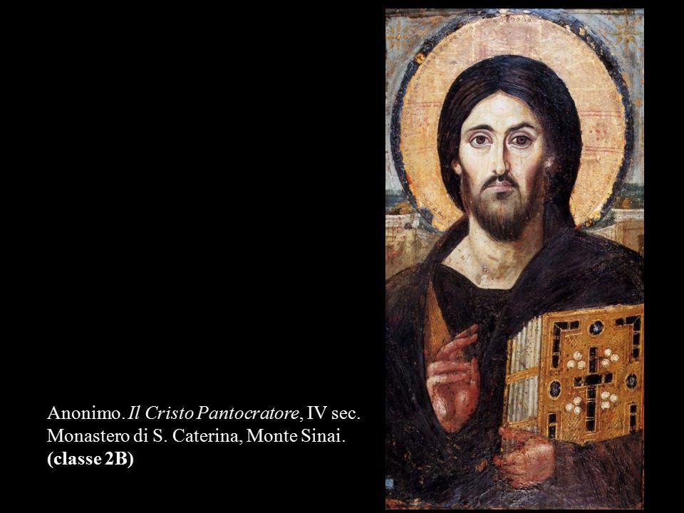 Anonimo. Il Cristo Pantocratore, IV sec. Monastero di S. Caterina, Monte Sinai. (classe 2B)