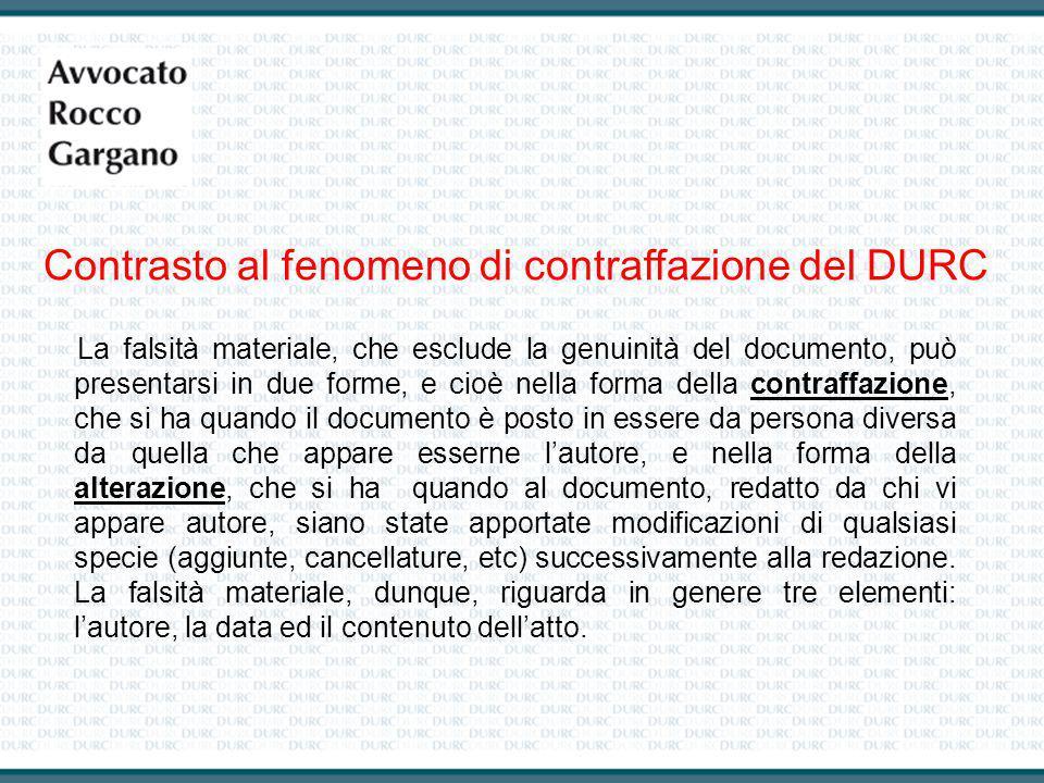 La falsità materiale, che esclude la genuinità del documento, può presentarsi in due forme, e cioè nella forma della contraffazione, che si ha quando