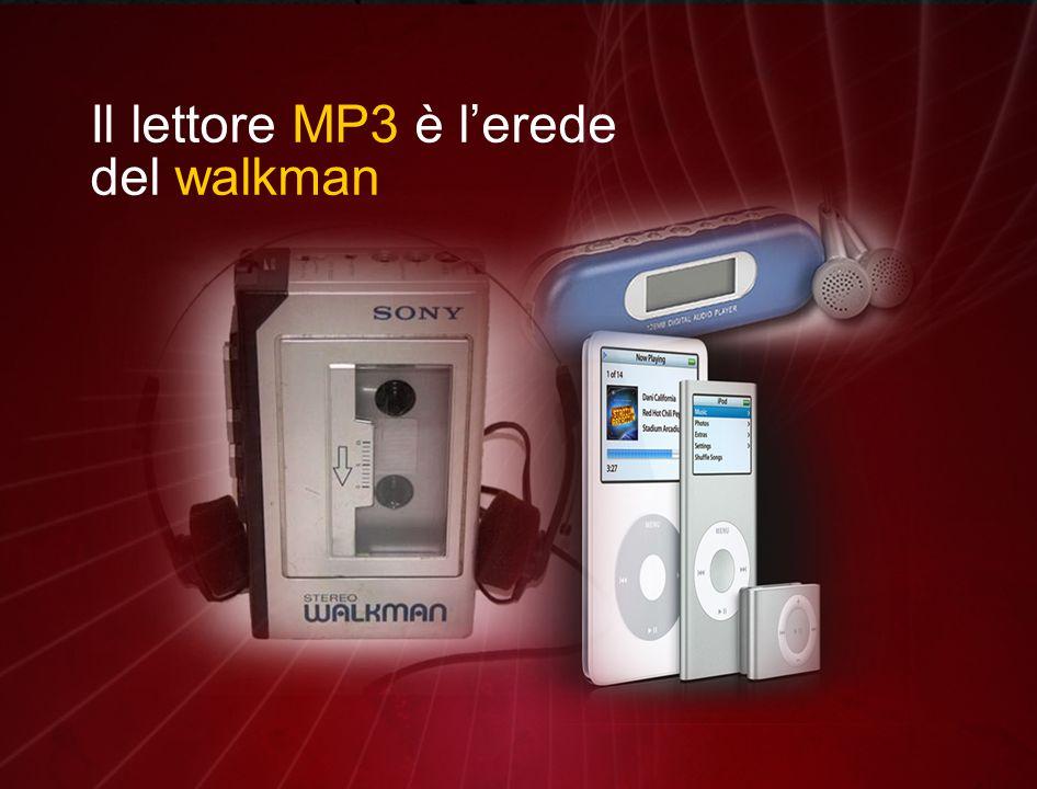 Il lettore MP3 è l'erede del walkman